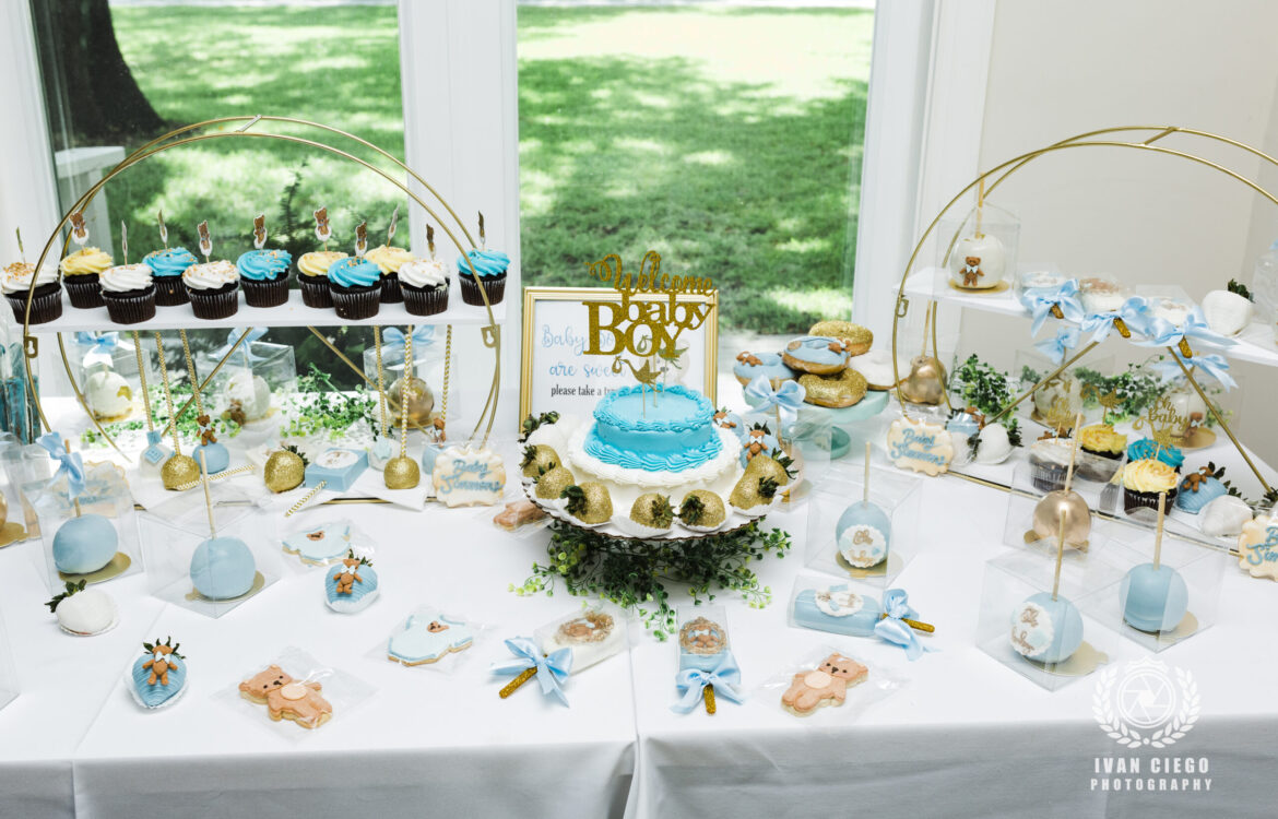 April and Claude's Baby Shower